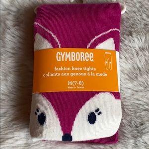 Gymboree Fox Fashion knee Tights
